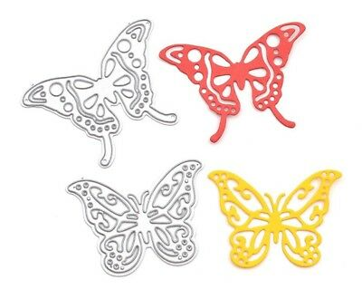 2 x Butterfly Craft Die Suitable for Sizzix Cuttlebug Die cutting machines
