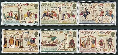 1987 Jersey William The Conqueror Set Of 6 Fine Mint Mnh
