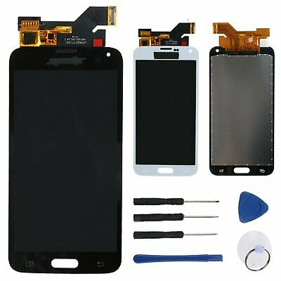 Per Samsung Galaxy S5 i9600 G900A G900F LCD Display Touch Screen Schermo Nero