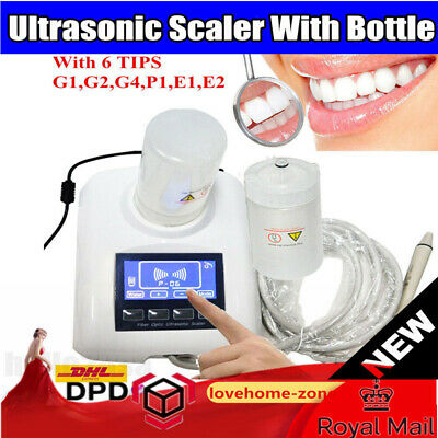 Woodpecker Type Dental Ultrasonic Piezo Scaler with 2 Bottles+ Handpiece+6 Tips