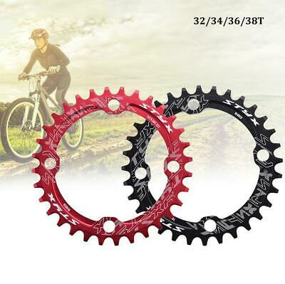 BCD104mm Moutian Bike Chainring Narrow Wide Single Speed Chain Ring 32T-38T JA