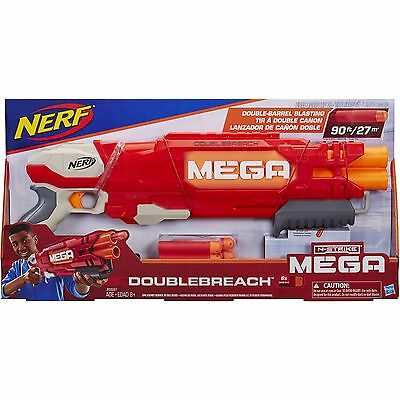 NEW NERF N-Strike Elite DoubleBreach Pump Action Double Barrel Shotgun Blaster