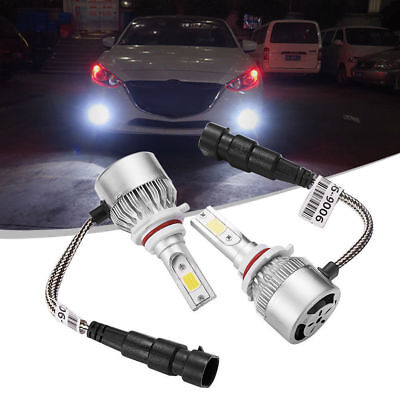 Car LED 9006 HB4 Headlight Bulb 3800LM 6000K Xenon All In one Lamp C6 Waterproof