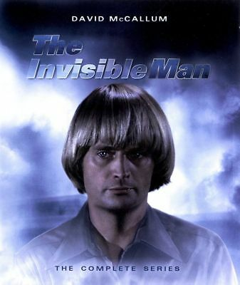 Blu Ray THE INVISIBLE MAN the complete series. David McCallum. All Regions. New.