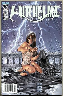 Witchblade #14-1997 nm- 9.2 Michael Turner Newsstand Variant cover