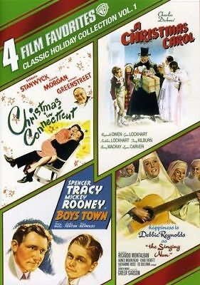 THE SINGING NUN, BOYS TOWN and A CHRISTMAS CAROL (1938). Region free. New DVD