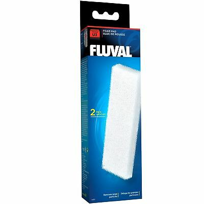 Fluval U3 Filter Foam Pad - 2pk- fish tank - filteration