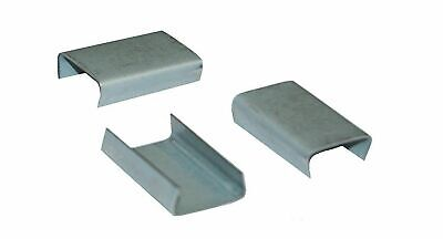 """MIP 5/8"""" Snap-On Steel Open Strapping Seal S58S02 *Case of 2500*"""