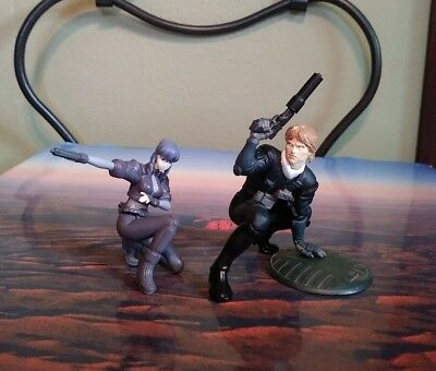 Ghost in the Shell Figure Set of 2 Motoko Togusa Japan