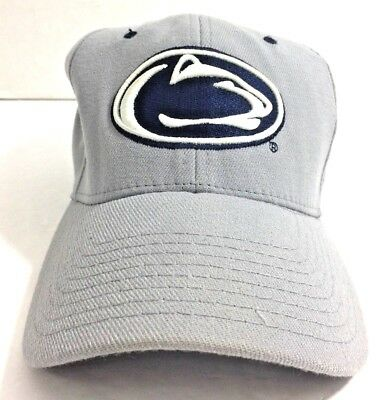 timeless design fa91e adebf Zephyr ZFIT Mens Penn State Nittany Lions Baseball Cap Fitted Hat Size M L