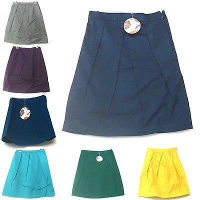 Girl's Skirt Pleated Conservative Modest Uniform School Over Knee Colors Sizes