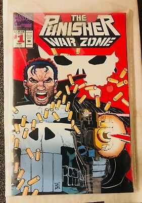 The Punisher: War Zone #1 (Mar 1992, Marvel) Great Condition