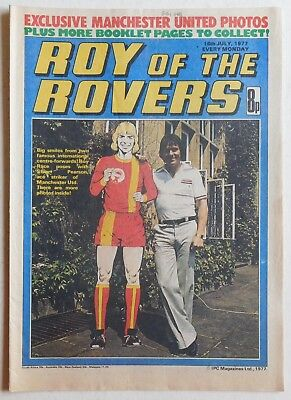 ROY OF THE ROVERS Comic - 16th July 1977