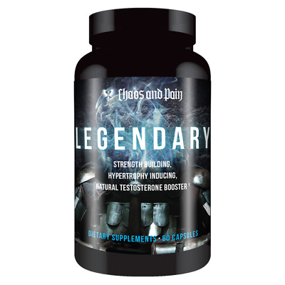 CHAOS AND PAIN LEGENDARY 60 caps EPICATECHIN + LAXOGENIN Unlimited Muscle Growth