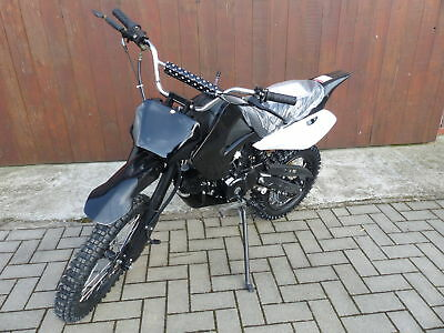 125 ccm Dirt Bike 17/14 Räder Cross Vollcross Pocketbike Pit Enduro mit Anlasser