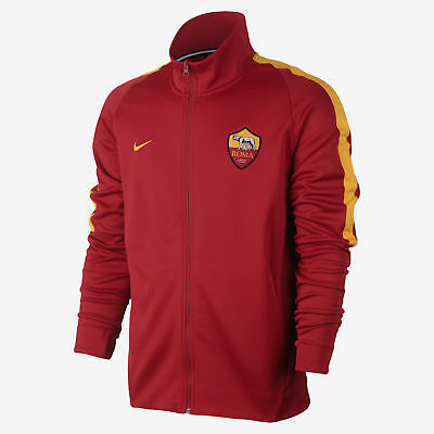 Nike Men's AS Roma N98 Authentic Franchise Jacket Team Red New 868924 613 2XL