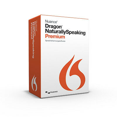Nuance Dragon NaturallySpeaking 13 Premium Deutsch 1PC 1 Benutzer Vollversion