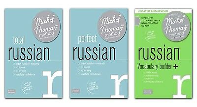 Michel Thomas Total Russian & Perfect Russian & Russian Vocabulary Builder+