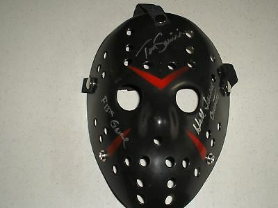 KANE HODDER Signed Hockey Mask HELL JASON Voorhees Friday the 13th THE GAME RARE