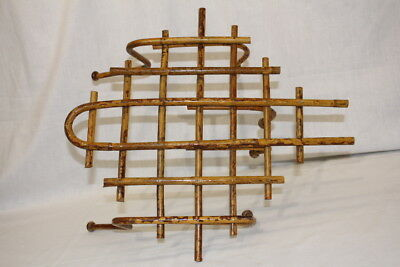 Vintage Bamboo Coat Rack French Country Cottage Shabby Chic Sty; Unusual Style