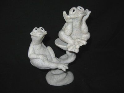 Quarry Critters 3 Pc Set Felicity/Freddie/2Tier Lilly Pad Display Second Nature