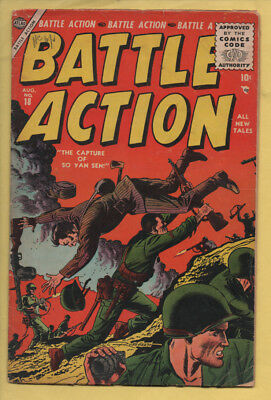 Battle Action #18 August 1955, Marvel, 1952 Series GD/VG