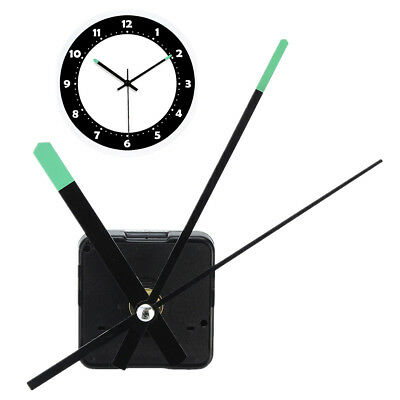 Replacement DIY Quartz Clock Movement Mechanism Motor Kit With Luminous Hands