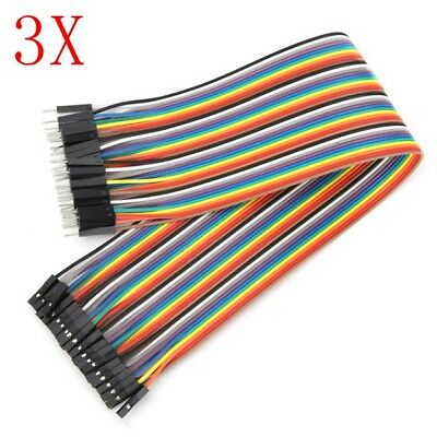 120pcs 30cm Male To Female Jumper Cable Dupont Wire For Arduino