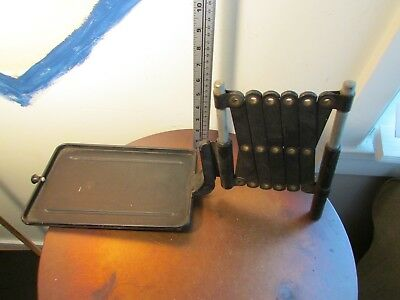 Antique Scissor Extending Telephone Stand, Table, Western Electric