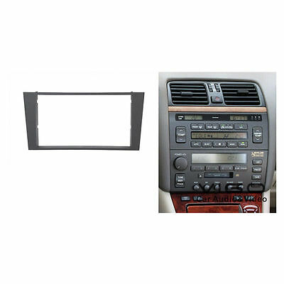 *Fascia facia Lexus LS400 Toyota Celsior 1995-2000 Double Two 2 DIN Dash Kit
