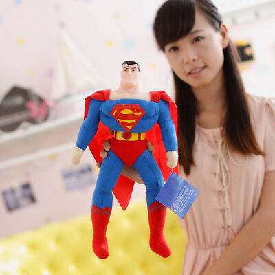 Mattel 45Cm Marvel Superman Action Figures Doll Plush Soft Stuffed Playset Toy