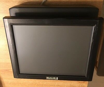 Javelin Viper III touch screen terminal POS system