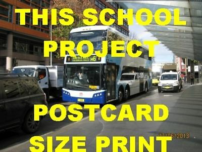 Sydney 2012 Railway D/d Bus #6091 Terminus Photo $5