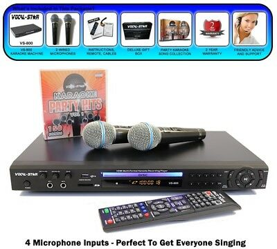 Vocal Star Karaoke System CS-800 (AS NEW from Xmas)
