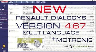 NEW RENAULT DIALOGYS 4.67 (09/2017) multilanguage  Download Version