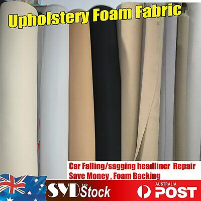 12Style Headliner Cloth Fabric For Car Boat Falling Down Upholstery Repair Renew