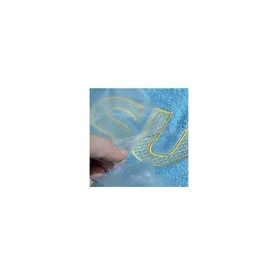 Solvy Film Water Soluble Embroidery Stabiliser 1mts/1mts  Neat Finish Quality