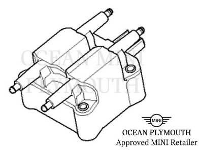 Bmw Mini One Cooper Cooper S Ignition Coil Pack Leads R50 R52