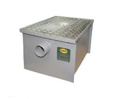 Commercial Kitchen PDI Certified 14 lb Grease Trap Interceptor 7 G.P.M.