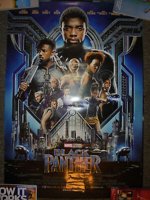 Black Panther - Original DS Movie Poster - 27x40