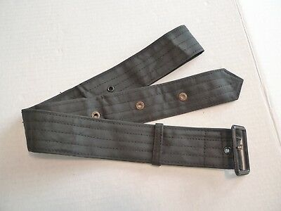 Barbour- Vintage-Waxed Cotton Belt For A472 Lightweight International -Rare-38