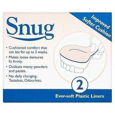 Snug Coussin Denture 1 2 3 6 12 Packs
