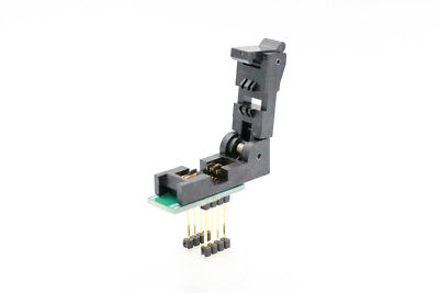 8pin SOIC ZIF Socket to 8pin DIL Programmer Adapter