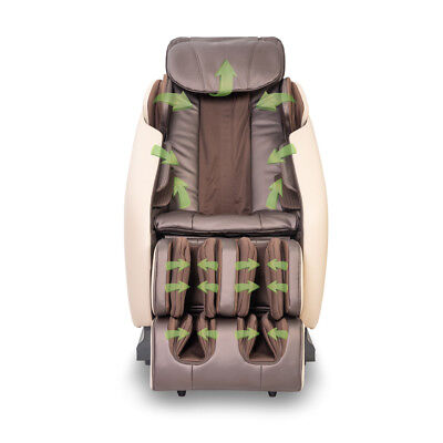 Uhealth Full Body L-shape Electric Leather Shiatsu Massage Chair ***SALE***