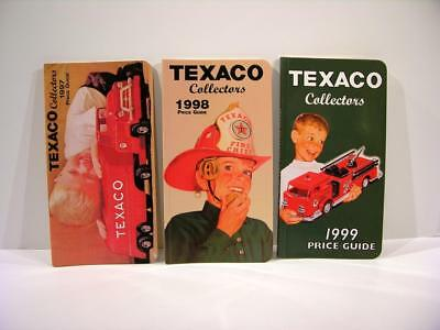Rare 1997, 1998 & 1999 Texaco Toy Price Guides (set of 3)