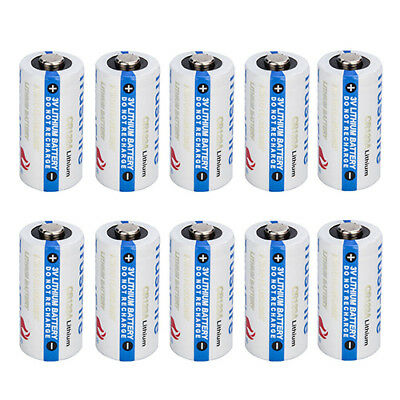 20x TrustFire CR123A 1400mAh Battery 3.0V Non-Rechargeable Li-ion Battery F9D3