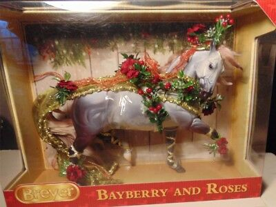 Breyer 2014 Holiday Horse, Bayberry and Roses - NIB Retired