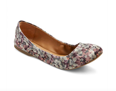 c1a7427f9c83 NEW Women s Ona Round Toe Ballet Flats - Mossimo Supply Co Multi Color size  6