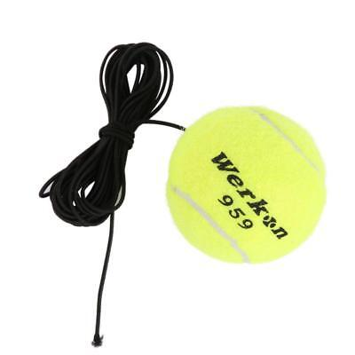 Fitness Belt with Rubber Band Training Practice Ball Elastic Rope Tennis Balls