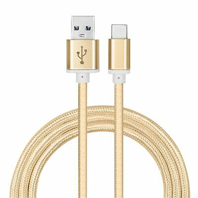 Strong Braided Nylon Fast USB C 3.0 Type C Data Sync Charger Charging Cable 1M